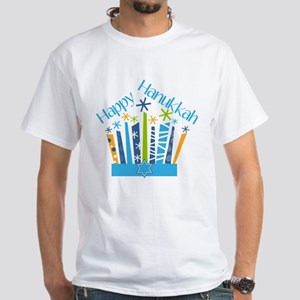 Happy Hanukkah Candles T-Shirt