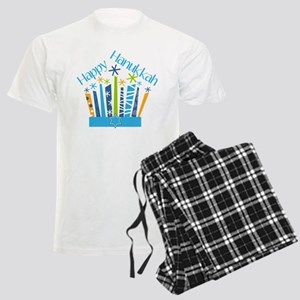 Happy Hanukkah Candles Pajamas