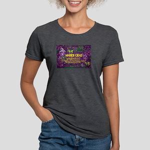 Mardi Gras Madness Bourbon French Quarter T-Shirt