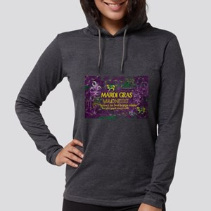 Mardi Gras Madness Bourbon Fre Long Sleeve T-Shirt