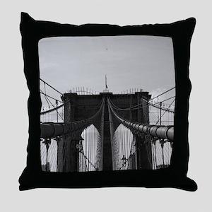 Brooklyn Bridge * Throw Pillow