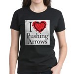 I Love Pushing Arrows T-Shirt
