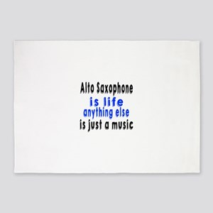 Alto Saxophone Is Life Anything Els 5'x7'Area Rug