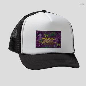 Mardi Gras Madness Bourbon French Kids Trucker hat
