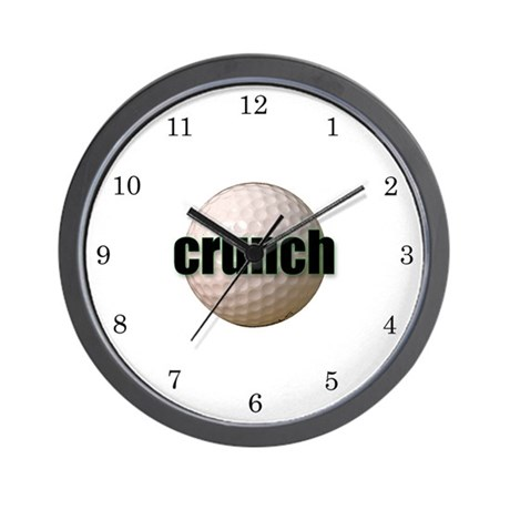 It's crunch time-Golf