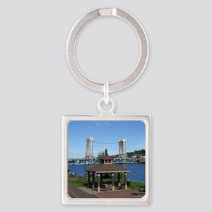 Portage Lake Bridge Keychains