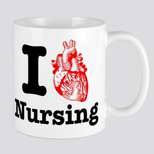 I Heart Nursing Mug