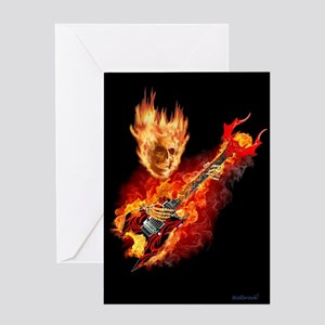 Playing With HellFire Greeting Cards