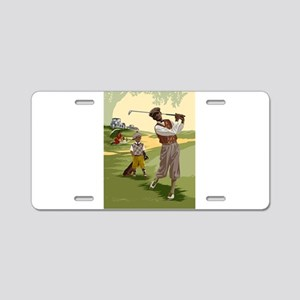 Golf Game Aluminum License Plate