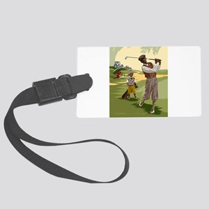 Golf Game Large Luggage Tag