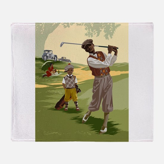 Golf Game Throw Blanket