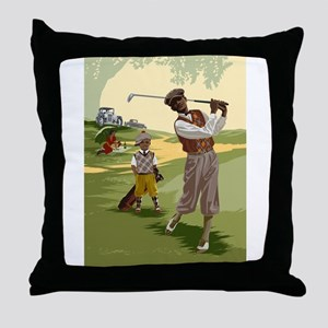 Golf Game Throw Pillow