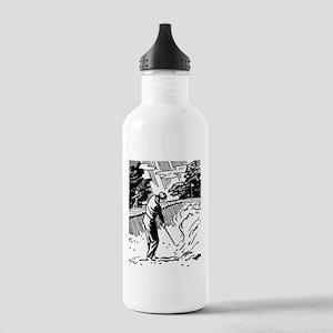 golf bunker Sports Water Bottle