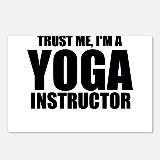 Trust Me, I'm A Yoga Instructor Postcards (Pac