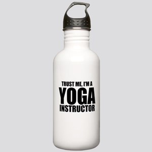 Trust Me, I'm A Yoga Instructor Water Bottle