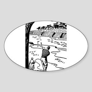 golf shot Sticker