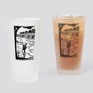 golf shot Drinking Glass