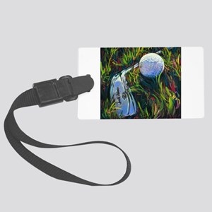 golf today Large Luggage Tag