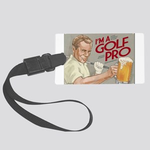 golf ro Large Luggage Tag