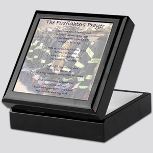 Firefighters Prayer Keepsake Box
