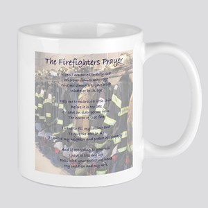 Firefighters Prayer Mugs