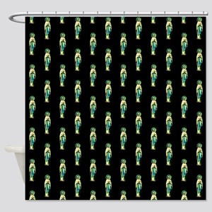 Cult of Santa Muerte Shower Curtain
