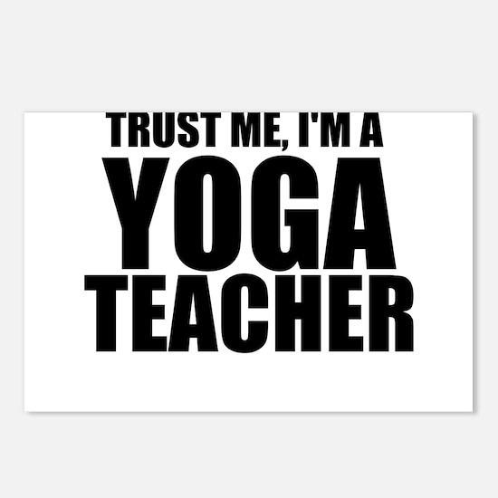 Trust Me, I'm A Yoga Teacher Postcards (Packag