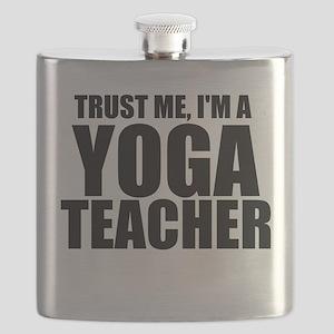 Trust Me, I'm A Yoga Teacher Flask