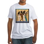 Nubian Musicians of Egypt Fitted T-Shirt