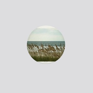 Dunes at the Beach with Sea Oats Mini Button