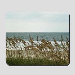Dunes at the Beach with Sea Oats Mousepad