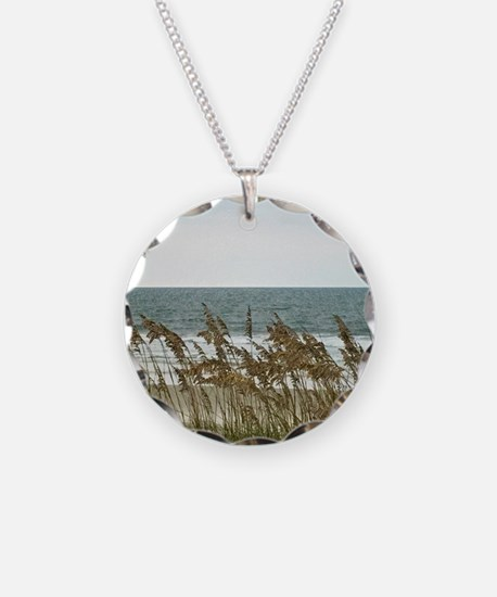 Dunes at the Beach with Sea Oats Necklace