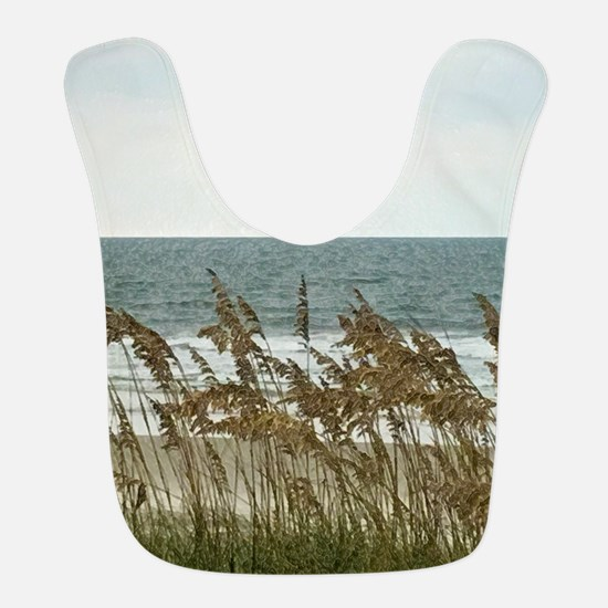 Dunes at the Beach with Sea Oats Polyester Baby Bi