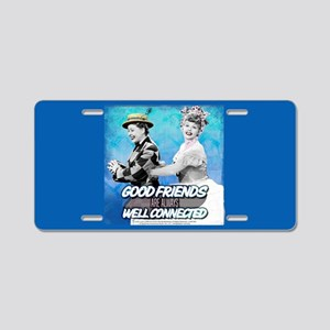 I Love Lucy: Good Friends Aluminum License Plate
