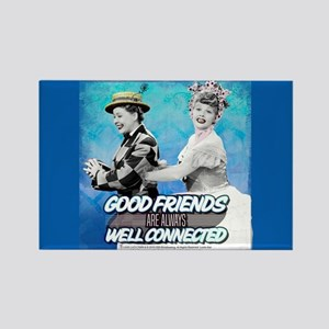 I Love Lucy: Good Friends Rectangle Magnet
