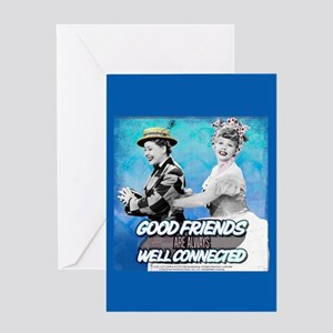 I Love Lucy: Good Friends Greeting Card