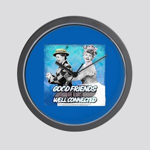 I Love Lucy: Good Friends Wall Clock