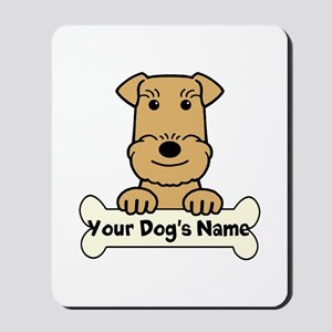 Personalized Airedale Mousepad