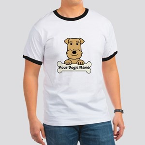 Personalized Airedale Ringer T