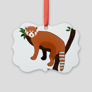 Red Panda Picture Ornament