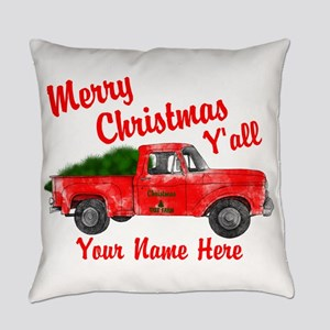 Merry Christmas Yall Everyday Pillow