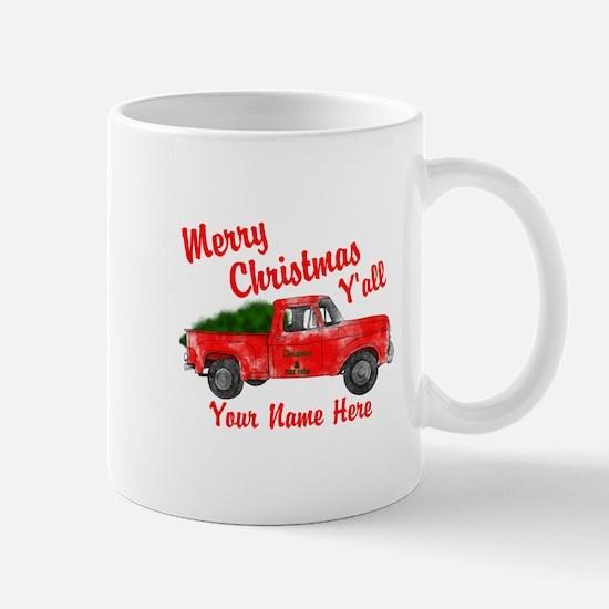 Merry Christmas Yall Mugs