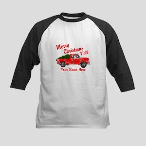 Merry Christmas Yall Baseball Jersey