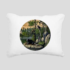 Best Seller Bear Rectangular Canvas Pillow