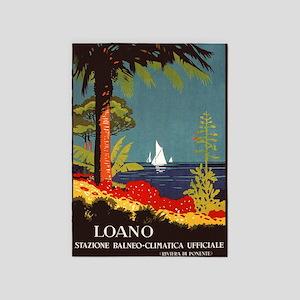Loana, Italy, Vintage Travel Poster 5'x7'a