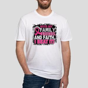 Breast Cancer Survivor FamilyFriends T-Shirt