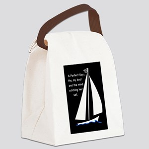 A Perfect Day Canvas Lunch Bag