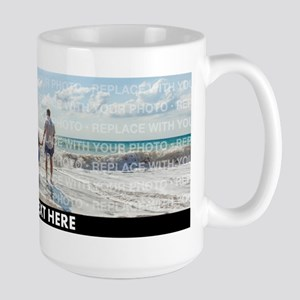 Replace Wrap Photo Text Mugs