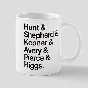 Grey's Character Last Names Mug