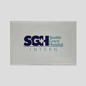 Grey's SGH Intern Rectangle Magnet